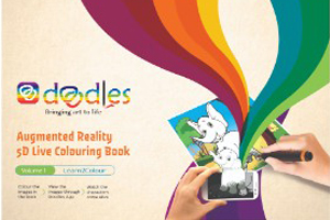 NTLearn 5D Coloring Books - Volume 1