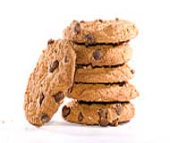 How many cookies are there in the picture?