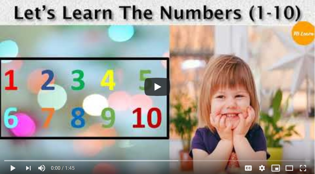 NTLearn - Learn the numbers one to ten (1-10)