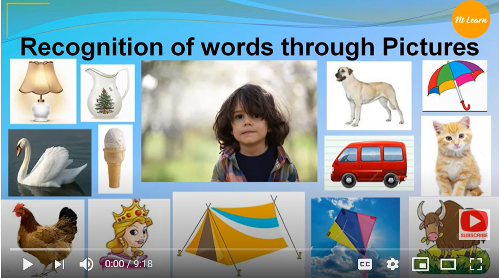 NTLearn - Recognition of words through Pictures